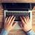 masculino · mãos · laptop · datilografia · negócio - foto stock © dolgachov