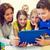 студентов · учитель · ПК · компьютер · школы · образование - Сток-фото © dolgachov
