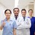 enfermeira · médico · equipe · feliz · sorrindo · câmera - foto stock © dolgachov