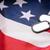 американский · флаг · военных · жетоны · войска · службе - Сток-фото © dolgachov