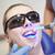 fogászati · ultraibolya · fény · szerszám · piros · orvos - stock fotó © dolgachov