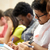 Öğrenciler · yazı · sınav · salon · kolej · adam - stok fotoğraf © dolgachov