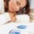 vervelen · zakenvrouw · naar · grafieken · kantoor · business - stockfoto © dolgachov
