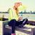 vrouw · sport · buitenshuis · sport · lifestyle - stockfoto © dolgachov