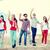 グループ · 学生 · 青少年 · 手 · 夏 - ストックフォト © dolgachov
