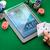kumarhane · poker · oyuncu · kartları · tablet · cips - stok fotoğraf © dolgachov