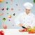 улыбаясь · женщины · повар · овощей · приготовления - Сток-фото © dolgachov