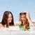 девочек · пляж · лет · праздников · технологий - Сток-фото © dolgachov