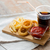 fast · food · snacks · drinken · tabel · ongezond · eten - stockfoto © dolgachov