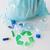 мусор · сумку · зеленый · Recycle · символ - Сток-фото © dolgachov