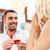 man · vrouw · trouwring · restaurant · voorstel · valentijnsdag - stockfoto © dolgachov