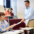 studentów · nauczyciel · wykład · sali · edukacji · liceum - zdjęcia stock © dolgachov