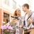 романтические · дата · Велосипеды · улице · улыбка - Сток-фото © dolgachov