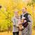 famiglia · felice · smartphone · parco · famiglia · infanzia · stagione - foto d'archivio © dolgachov