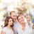 gelukkig · gezin · meisje · zelfportret · familie · kind - stockfoto © dolgachov