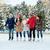 vrouwen · ijs · schaatsen · winter · activiteit - stockfoto © dolgachov