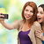 jonge · vrouwen · grappig · samen · twee · meisjes - stockfoto © dolgachov