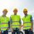 heureux · Homme · constructeurs · élevé · visible · extérieur - photo stock © dolgachov