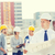 csoport · építők · táblagép · terv · üzlet · épület - stock fotó © dolgachov