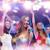 szczęśliwy · kobiet · śpiewu · karaoke · taniec · strony - zdjęcia stock © dolgachov