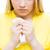 megnyugtató · barát · nő · szomorú · kéz · váll - stock fotó © dolgachov