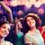 mosolyog · nők · tánc · klub · buli · ünnepek - stock fotó © dolgachov