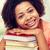 幸せ · アフリカ · 学生 · 少女 · 図書 · ホーム - ストックフォト © dolgachov