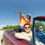 país · conduzir · mulher · carro · estrada - foto stock © dolgachov
