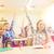 школьницы · сидят · столе · классе · обучения - Сток-фото © dolgachov