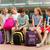 grupo · feliz · escuela · primaria · estudiantes · hablar · primario - foto stock © dolgachov