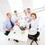üzleti · csapat · megbeszélés · iroda · üzlet · barátságos · csoport - stock fotó © dolgachov