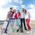 подростков · коньки · за · пределами · лет · праздников - Сток-фото © dolgachov