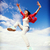 mooie · dansen · meisje · verkeer · sport · stedelijke - stockfoto © dolgachov