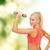 fiatal · sportos · nő · fény · súlyzó · fitnessz - stock fotó © dolgachov