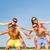 mosolyog · barátok · szórakozás · nyár · tengerpart · barátság - stock fotó © dolgachov