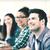 Öğrenciler · bilgisayarlar · eğitim · okul · eğitim · teknoloji - stok fotoğraf © dolgachov