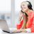 молодые · деловая · женщина · прослушивании · музыку · наушники - Сток-фото © dolgachov