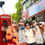 gelukkig · paar · Londen · stad - stockfoto © dolgachov