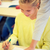 kinderen · studenten · klas · helpen · ander · school - stockfoto © dolgachov
