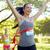 mutlu · genç · kadın · koşucu · kazanan · yarış - stok fotoğraf © dolgachov