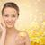 jeune · femme · beauté · produit · up - photo stock © dolgachov