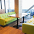 restaurant interior with table and sofas stock photo © dolgachov