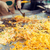 közelkép · szakács · wok · utca · piac · főzés - stock fotó © dolgachov