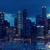 Bangkok · centre-ville · Skyline · panorama · nuit - photo stock © dolgachov