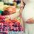 妊婦 · 果物 · 通り · 市場 · 販売 - ストックフォト © dolgachov
