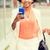 mulher · jovem · celular · caminhada · negócio · edifício · telefone · móvel - foto stock © dolgachov