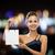 smiling woman with white blank shopping bag stock photo © dolgachov