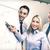 бизнес-команды · совета · обсуждение · бизнеса · служба · улыбаясь - Сток-фото © dolgachov
