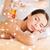 feliz · mulher · jovem · de · volta · massagem - foto stock © dolgachov