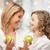 matka · córka · zielone · jabłka · rodziny - zdjęcia stock © dolgachov